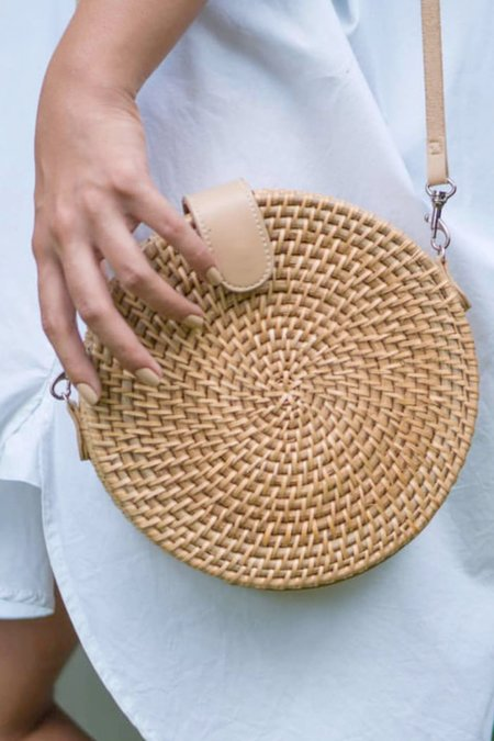 Accoutrements Alicia Crossbody - Natural