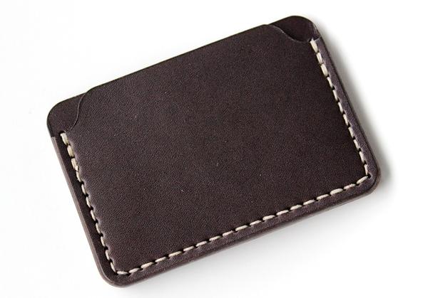 DW Leatherworks Card Wallet - Brown