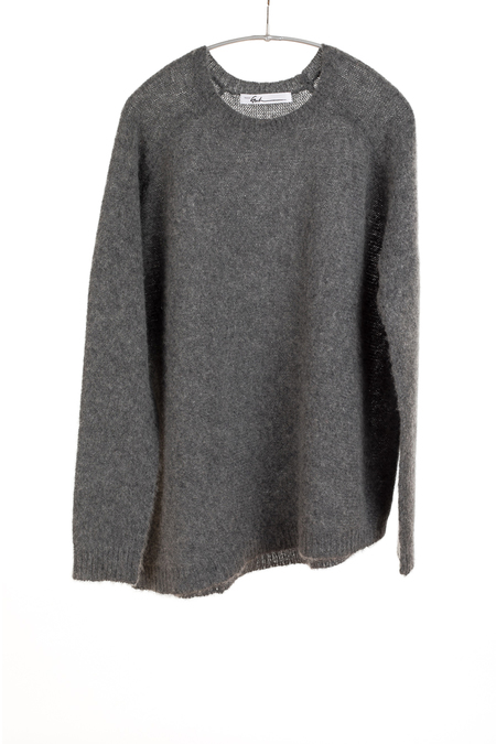Paychi Guh Cashmere Dreamy Crew - Charcoal