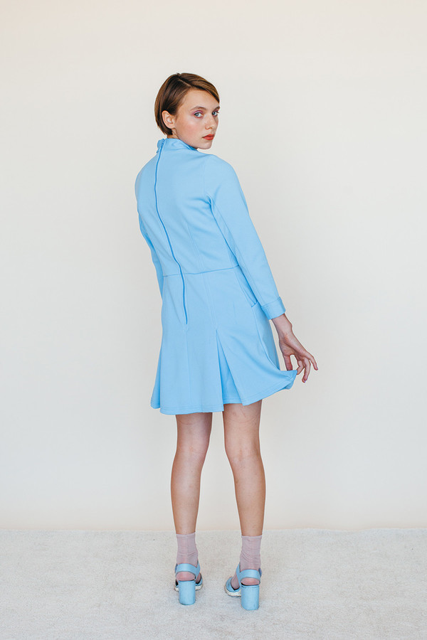 Samantha Pleet Booster Dress | Sky