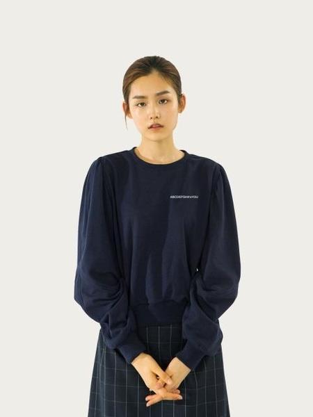 EENK IVONNE Volume Sleeve Sweatshirt