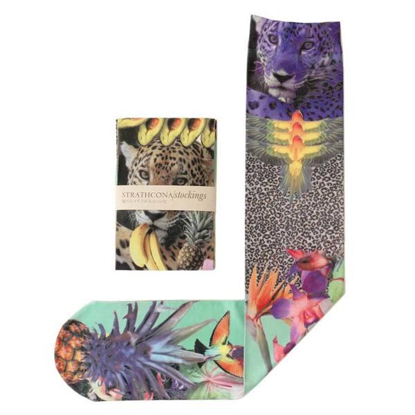 Strathcona Stockings Youtube Jungle Socks