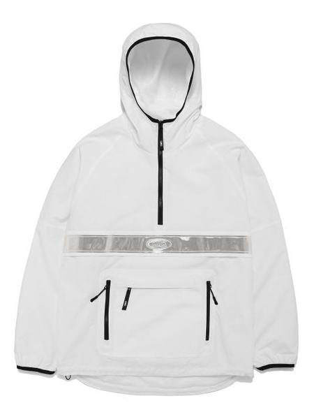 LMC Reflective Anorak Jacket - White