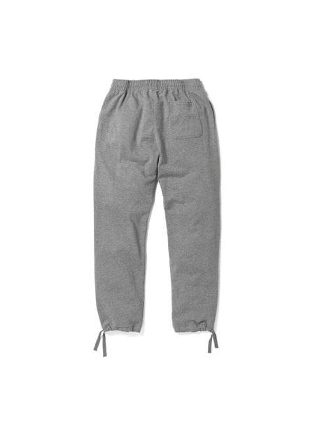 Aeca White Mid String Long Pants - Grey