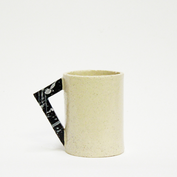 Lindsey Hampton Mug with Angle Handle