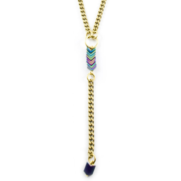 Hen Jewelry Shooting Star Collar