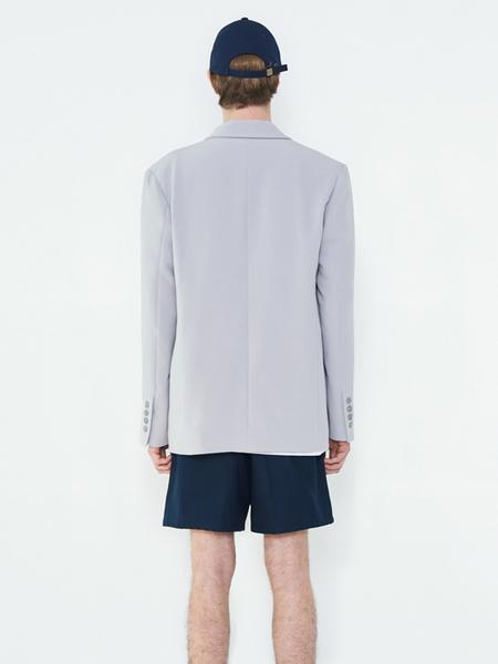 Unisex EVANLAFORET Single Jacket - Gray