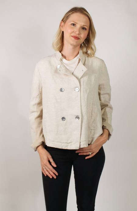 Studio 412 Linen Sailor Jacket