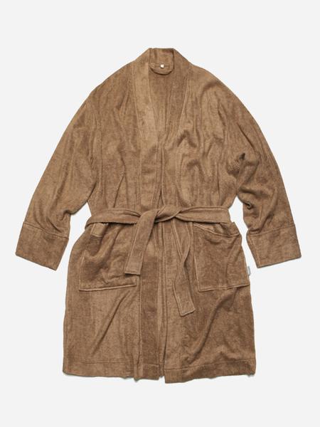 Unisex FRIZMWORKS Bamboo Yarn Long Robe - Camel
