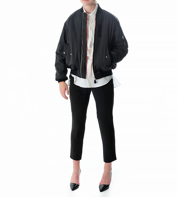 G.V.G.V. Lace Up Bomber Jacket