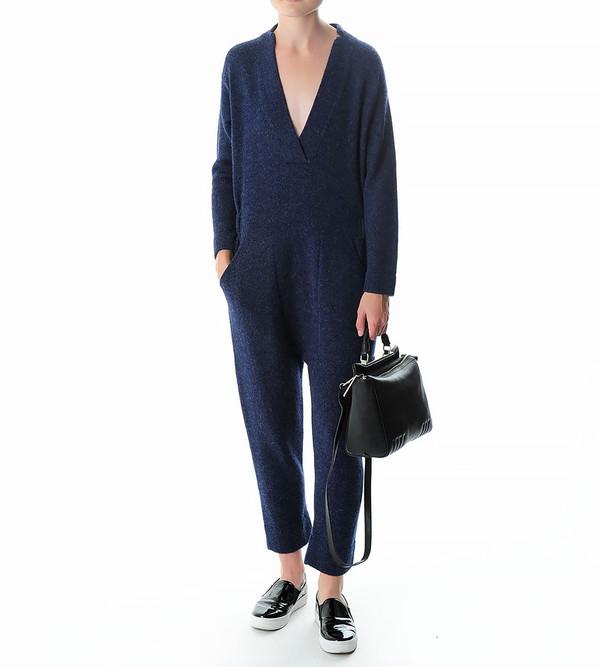 Lauren Manoogian Wool Utility Jumpsuit