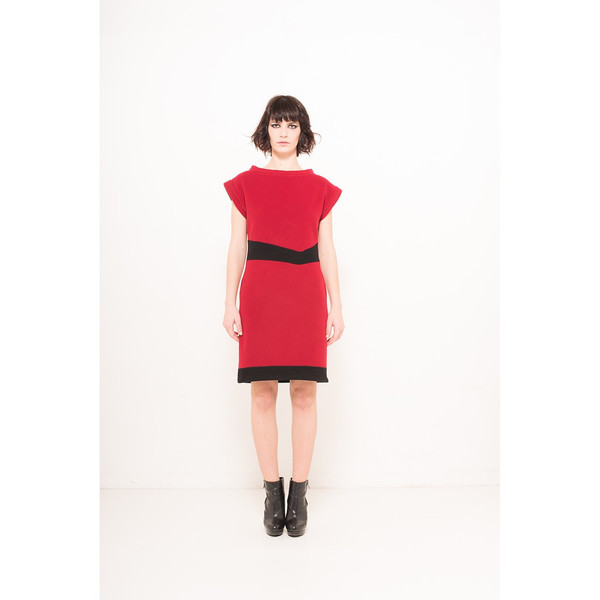 V dress