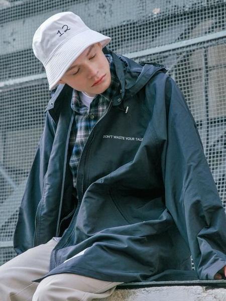 Balant Classic Liberty Jumper Rain Coat - Charcoal Gray