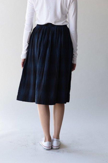 Bsbee Gemma Skirt - Navy Plaid Black