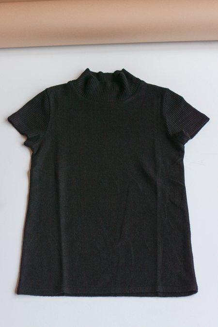 Beautiful People Brushed Jersey Short Sleeve - Black