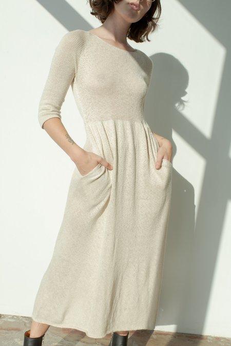 Morph Knitwear Saoirse Silk Knit Dress
