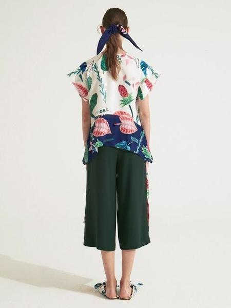 IANNMORE Solid Wide Pants
