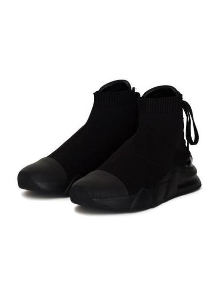 Unisex DBYDGNAK Modern Runner Lace Up Shoes - Black