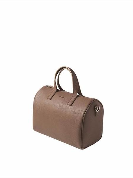 Find Kapoor 29 Basic Line Boston Bag - Choco Brown