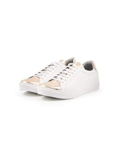FELLAS 1932 De Gas Lace-up Front With Flat Woven Laces Sneakers - Gold