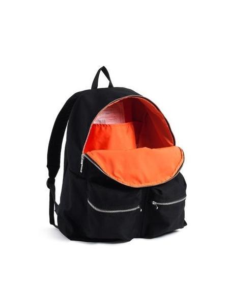AECA WHITE Twill Twill Back Pack - Black