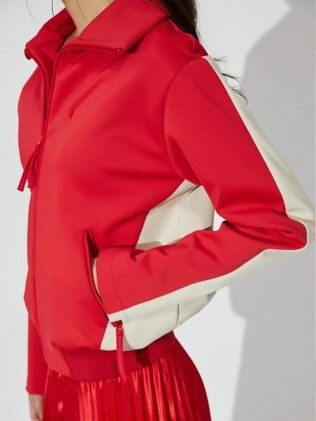 AHEIT Color Block Jumper - Red
