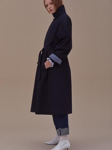 ANSWERING BIRD Bailey Trench - Navy