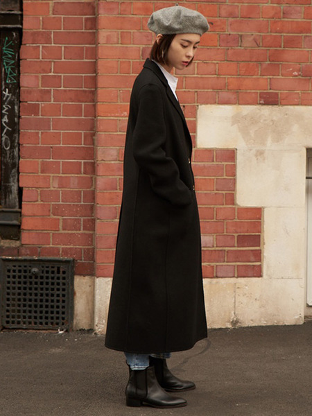 CPR Handmade Classic Gold Point Wool Coat