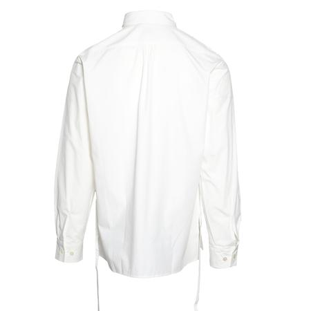 "Sasquatchfabrix. ""Maribeto"" Big Dress Shirt - WHITE"