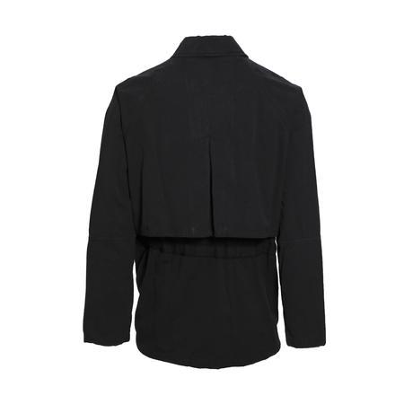 Robert Geller Bertrand Paper Cotton Jacket - Black