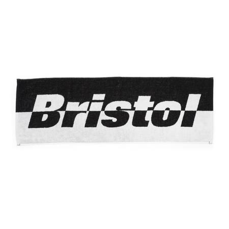 F.C. Real Bristol Combination Logo Sports Towel - BLACK