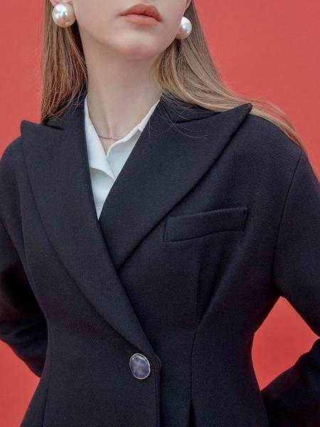 Frontrow X Maisonmarais Hourglass Wool Jacket