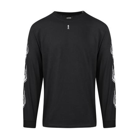 Sasquatchfabrix. Kamisabiru-003 Long Sleeve T-Shirt - Black