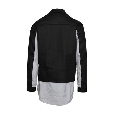 JohnUNDERCOVER Layered Shirt Jacket - Black