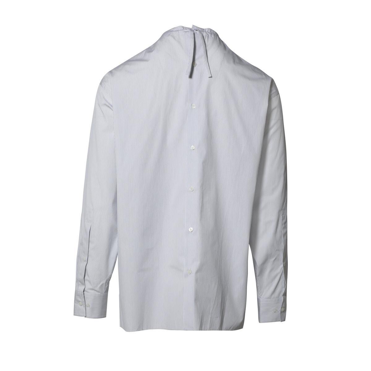 d45d0314 Marni Long Sleeve Shirt - Fine Blue Stripes   Garmentory