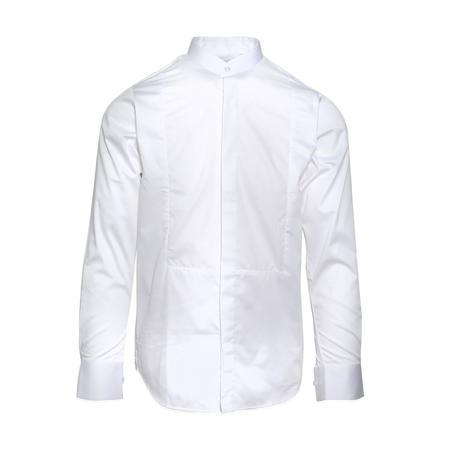 Matthew Miller Newman Bib Shirt - WHITE