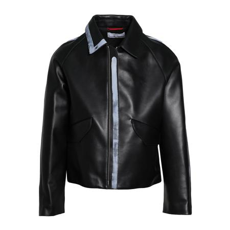 OAMC Painted Leather Jacket