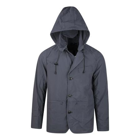 Meanswhile Water Repellent Tussah Travel Jacket - STEEL
