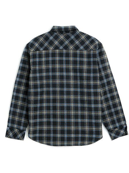 UNISEX BC BY BEYONDCLOSE Logo Oversized Quality Check Shirt - Black