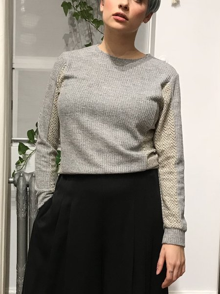 Dagg & Stacey Duvall Sweater - Grey/Ivory