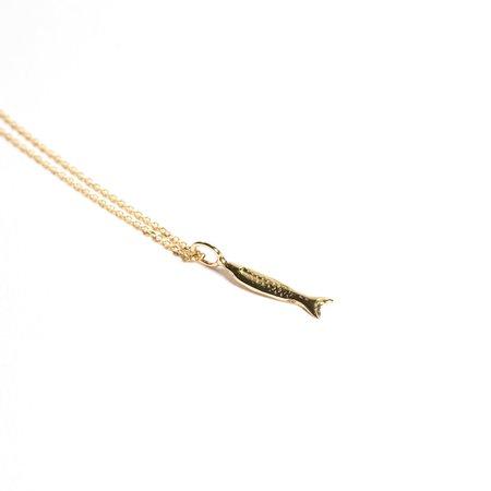 Odette New York Piscine Necklace - 14K Gold