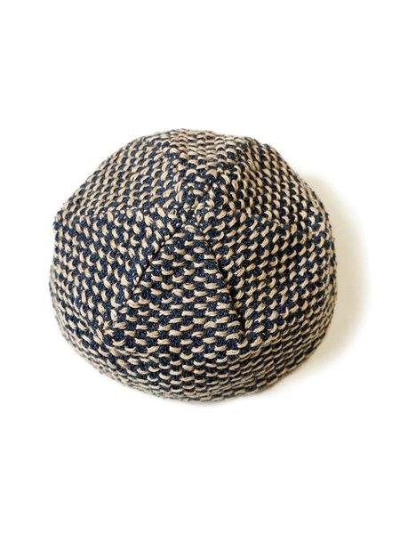 Kapital 7G Sashiko Knit Beret - Navy