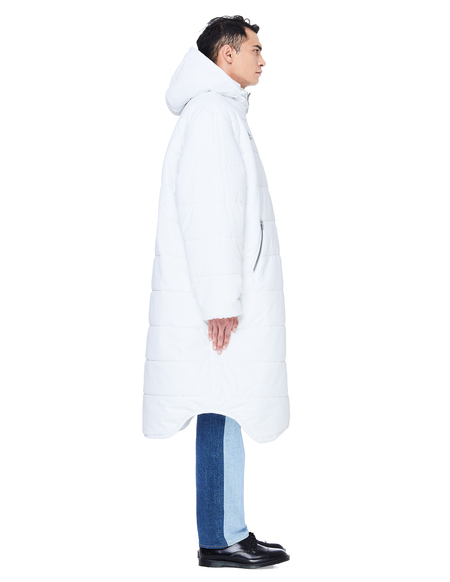 Gosha Rubchinskiy Long Puffer Jacket - White