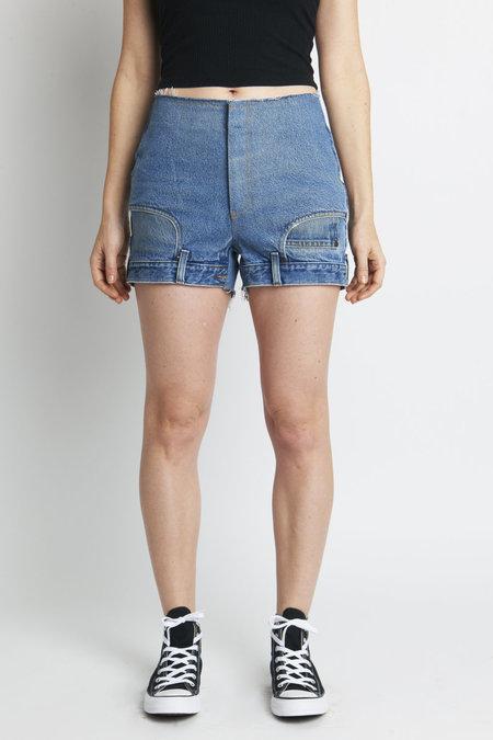 CIE Denim EL Medium Wash Jean Short - Blue