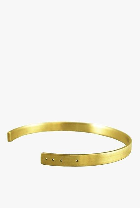 Marmol Radziner Choker Necklace - Light Brass