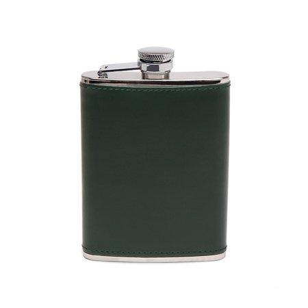 Freemans Sporting Club Ettinger 6oz Captive Top Flask - Green