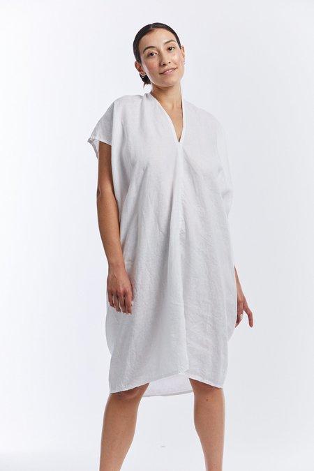 Miranda Bennett Linen Everyday Dress - White