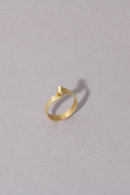 Anne Thomas Cassiopee Ring - 18k Gold