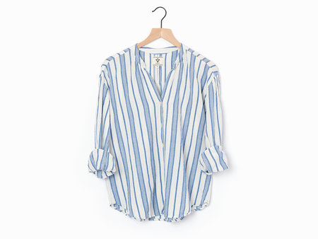 Bsbee Orchard Shirt - White/Blue