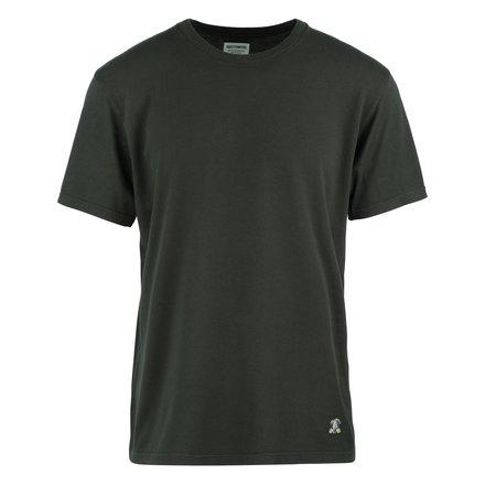 Wacko Maria Fire Nude Girl Standard Crew Neck T-Shirt - BLACK